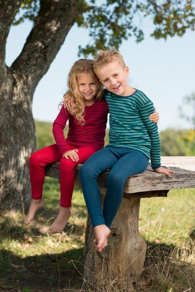 Engel-Natur Leggings für Kinder aus 70% Schurwolle (KbT.)/30% Seide