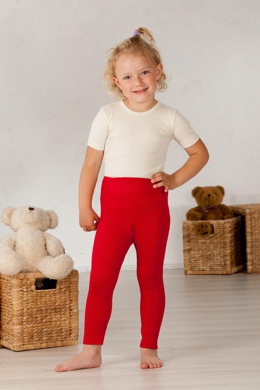 Cosilana Kinder-Leggings aus 70% Schurwolle (KbT.)/30% Seide