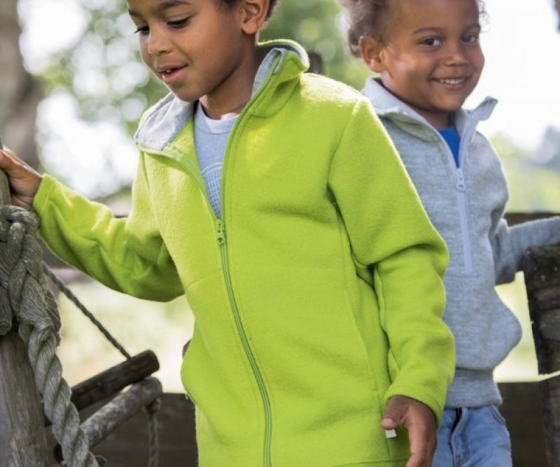 Disana Zipper-Jacke aus 100% Merino-Schurwolle (kbT.)