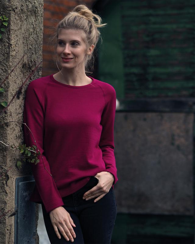 Reiff Damenshirt Fany aus 70% Merino-Schurwolle (kbT) / 30% Seide