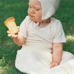 Engel-Natur Baby-Body, kurz-Arm aus 70% Schurwolle (kbT) / 30% Seide