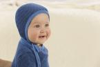 Disana Strick-Häubchen für Babys aus 100% Merino-Schurwolle (kbT)