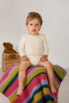 Cosilana Baby-Body lang-Arm aus 70% Schurwolle (kbT) / 30% Seide