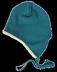 Reiff Ohrenmütze mit Baumwollplüsch gefüttert aus 100% Schurwolle (kbT)