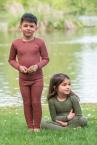 Engel-Natur Kinder-Leggings aus 70% Schurwolle (KbT.)/30% Seide