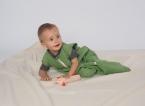 Reiff-Strick Plüschschlafsack ohne Arm aus 100% Baumwolle kbA.