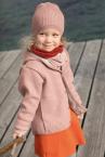Disana Walkjacke für Kinder aus 100% Merino-Schurwolle (kbT.)