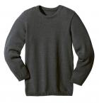 Disana Strick-Basic-Pullover aus 100% Merino Schurwolle kbT.