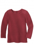 Disana Langarm-Pullover aus 100% Merino-Schurwolle (kbT.)