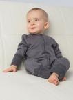 Reiff Overall/Schlafanzug Frottee aus 70% Merino-Schurwolle kbT/30% Seide