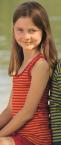 Engel-Natur Kinder-Achselhemd, geringelt aus 70% Schurwolle (kbT.) /30% Seide