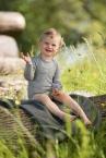 Engel-Natur Baby-Body langarm, aus 70% Schurwolle und 30% Seide